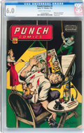 Golden Age (1938-1955):Adventure, Punch Comics #9 (Chesler, 1944) CGC FN 6.0 Slightly brittle pages....