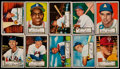 Baseball Cards:Lots, 1952 Topps Baseball Low Series (1-80) Collection (49)....