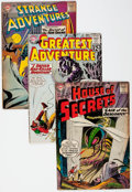 Silver Age (1956-1969):Horror, DC Silver and Bronze Age Horror and Science Fiction Comics Group of25 (DC, 1957-74) Condition: Average GD.... (Total: 25 Comic Books)