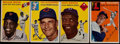 Baseball Cards:Sets, 1954 Topps Baseball Partial Set (68/250)....