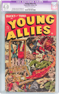 Golden Age (1938-1955):Superhero, Young Allies Comics #13 (Timely, 1944) CGC Apparent VG 4.0 Slight (C-1) Off-white to white pages....