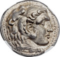 Ancients:Greek, Ancients: SELEUCID KINGDOM. Seleucus I Nicator (312-281 BC). ARtetradrachm (27mm, 17.21 gm, 9h)....