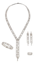 Estate Jewelry:Suites, Diamond, White Gold Jewelry Suite, H. Stern. ... (Total: 5 Pieces)