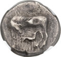 Ancients:Greek, Ancients: CORCYRA. Corcyra. Ca. 433-360 BC. AR stater (22mm,10.72m, 9h)....