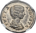 Ancients:Roman Imperial, Ancients: Julia Domna, wife of Severus (Augusta, AD 193-217). ARdenarius (19mm, 3.56 gm, 12h). ...