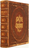 Books:Literature Pre-1900, [Miguel de] Cervantes. The History of Don Quixote. London:Cassell, Petter, and Galpin, [n.d. circa 1867]....