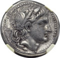 Ancients:Greek, Ancients: Demetrius Poliorcetes (306-283 BC). AR tetradrachm (31mm,16.36 gm, 5h)....