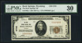 National Bank Notes:Wyoming, Rock Springs, WY - $20 1929 Ty. 1 The Rock Springs NB Ch. # 4755. ...