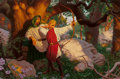 Paintings, Raoul Vitale (American, b. 1955). Teaching Young Arthur, 2003. Acrylic on board. 17.75 x 27 in. (sight). Signed lower le...