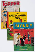 Golden Age (1938-1955):Miscellaneous, Comic Books - Assorted Golden Age Comics Group of 36 (Various Publishers, 1940s) Condition: Average VG.... (Total: 36 Comic Books)