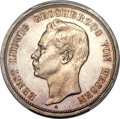 German States:Hesse-Darmstadt, German States: Hesse-Darmstadt. Ernst Ludwig Proof 5 Mark 1895-APR65 Cameo PCGS,...