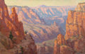 Fine Art - Painting, American:Modern  (1900 1949)  , Benjamin Chambers Brown (American, 1865-1942). Grand Canyon.Oil on canvas. 26-1/4 x 40 inches (66.7 x 101.6 cm). Signed...
