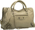 """Luxury Accessories:Bags, Balenciaga Vert Militaire Green Lambskin Leather Classic City Bag.Excellent Condition. 15"""" Width x 9.5"""" Height x5.5""""..."""