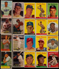 Baseball Cards:Lots, 1940's - 1950's Bowman, Exhibit & Topps Collection With Stars& HoFers (200+)....