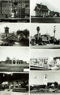 Books:Prints & Leaves, [U.S. Railroad Stations] Archive of Approximately 140 Photographs Relating to Relating to U.S. Railroad Stations....