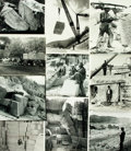 Books:Prints & Leaves, [Stone Quarries]. Collection of Forty-Two Photographs Relating toStone Quarries....