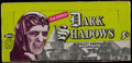 "Non-Sport Cards:Unopened Packs/Display Boxes, 1969 Philadelphia Gum ""Dark Shadows"" 2nd Series (Empty) Wax Box...."