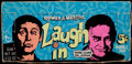 Non-Sport Cards:Unopened Packs/Display Boxes, 1968 Topps Laugh-In 5-Cent (Empty) Wax Box. ...
