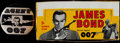 "Non-Sport Cards:Unopened Packs/Display Boxes, 1965 Philadelphia Gum ""James Bond"" (Empty) Wax Box and 007 Badge!..."