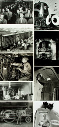 Books:Prints & Leaves, [Railroads: U.S.] Archive of Approximately 145 Photographs Relatingto Relating to U.S. Railroads....