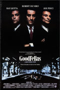 "Movie Posters:Crime, Goodfellas (Warner Brothers, 1990). One Sheet (27"" X 40.25"") DS.Crime.. ..."