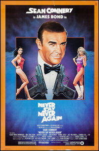 "Never Say Never Again (Warner Brothers, 1983). One Sheet (27"" X 41""). James Bond"