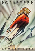 """Movie Posters:Action, Rocketeer (Walt Disney Pictures, 1991). Autographed One Sheet (27""""X 41"""") DS Advance. Action.. ..."""