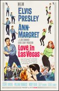 "Movie Posters:Elvis Presley, Viva Las Vegas (MGM, 1964). International One Sheet (27"" X 41"").International Title Love in Las Vegas. Elvis Presley.. ..."
