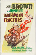 "Movie Posters:Comedy, Earthworm Tractors (Warner Brothers, 1936). One Sheet (27"" X 41"").Comedy.. ..."