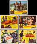 "Movie Posters:Western, Son of a Badman & Others Lot (Screen Guild Productions, 1949). Title Lobby Cards (3) & Lobby Cards (7) (11"" X 14""). Western.... (Total: 10 Items)"