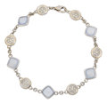 Estate Jewelry:Bracelets, Diamond, Chalcedony, White Gold Bracelet, Tiffany & Co.. ...