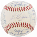 Baseball Collectibles:Balls, 1969 New York Mets Team Signed Baseball (27 Signatures) - World Championship Season!...