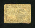 Colonial Notes:Continental Congress Issues, Continental Currency May 9, 1776 $4 Very Good. Three corners arerounded on this example....