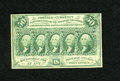 Fractional Currency:First Issue, Fr. 1312 50c First Issue Very Fine. The hardest fold on this note is a lateral center fold....
