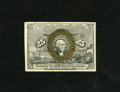 "Fractional Currency:Second Issue, Fr. 1284 25c Second Issue Choice About New. Very light circulation is found on this scarcer ""18-63"" variety. The bronzing i..."