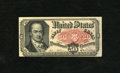 Fractional Currency:Fifth Issue, Fr. 1381 50c Fifth Issue Choice About New. There is a faroff-center fold that keeps this crisp and fresh Crawford from the...
