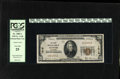 National Bank Notes:Colorado, Denver, CO - $20 1929 Ty. 1 The First NB Ch. # 1016. J.C. Houstonand John Evans managed this bank. PCGS Very Fine 25....