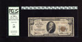 National Bank Notes:Kansas, Topeka, KS - $10 1929 Ty. 2 The Central NB Ch. # 3078. This is one of only seven Type Two Tens in the Kelly census. Offi...