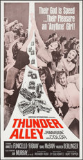 "Movie Posters:Action, Thunder Alley (American International, 1967). Three Sheet (41"" X79""). Action.. ..."