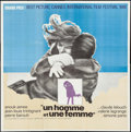 """Movie Posters:Foreign, A Man and a Woman (Allied Artists, 1966). International Six Sheet (79.5"""" X 79""""). Foreign.. ..."""