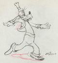 Animation Art:Production Drawing, Clock Cleaners Goofy Animation Drawing (Walt Disney,1937)....