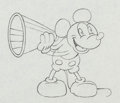 Animation Art:Production Drawing, Around the World in 80 Minutes Mickey Mouse Animation Drawing (Walt Disney/Elton Corp., 1931)....