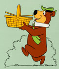 Animation Art:Color Model, Yogi Bear Hanna-Barbera Store Color Model Cel(Hanna-Barbera, 1990)....