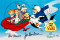 "Animation Art:Limited Edition Cel, The Jetsons ""Speed Limit 5500"" Signed Limited Edition Cel AP 8/20 (Hanna-Barbera, 1989)...."