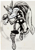 Memorabilia:Miscellaneous, MMMS Thor Poster Production Materials (Marvel, 1966).... (Total: 2 Items)