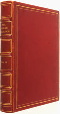 Books:Fine Bindings & Library Sets, [Fine Bindings]. A Catalogue of the Works of Art in the Collection of Anna Thomson Dodge, Vol. II. Detroit: [Det...