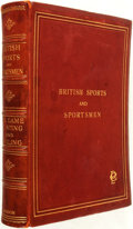 "Books:Fine Bindings & Library Sets, [Fine Bindings]. British Sports and Sportsmen. Big Game Huntingand Angling... Compiled and Edited by ""The Sportsman"". ..."