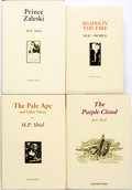 Books:Fiction, M. P. Shiel. Group of Four LIMITED Editions. Tartarus Press, [n.d.circa 2000].... (Total: 4 Items)