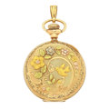 Timepieces:Pocket (post 1900), Elgin 14k Multi-Color Gold Hunter's Case Pocket Watch. ...