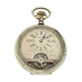 Timepieces:Pocket (post 1900), Exhibition 8-Days Exposed Balance Pocket Watch. ...
